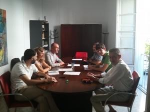 Encuentro mantenido entre sevillasemueve y el Ayuntamiento de Sevilla