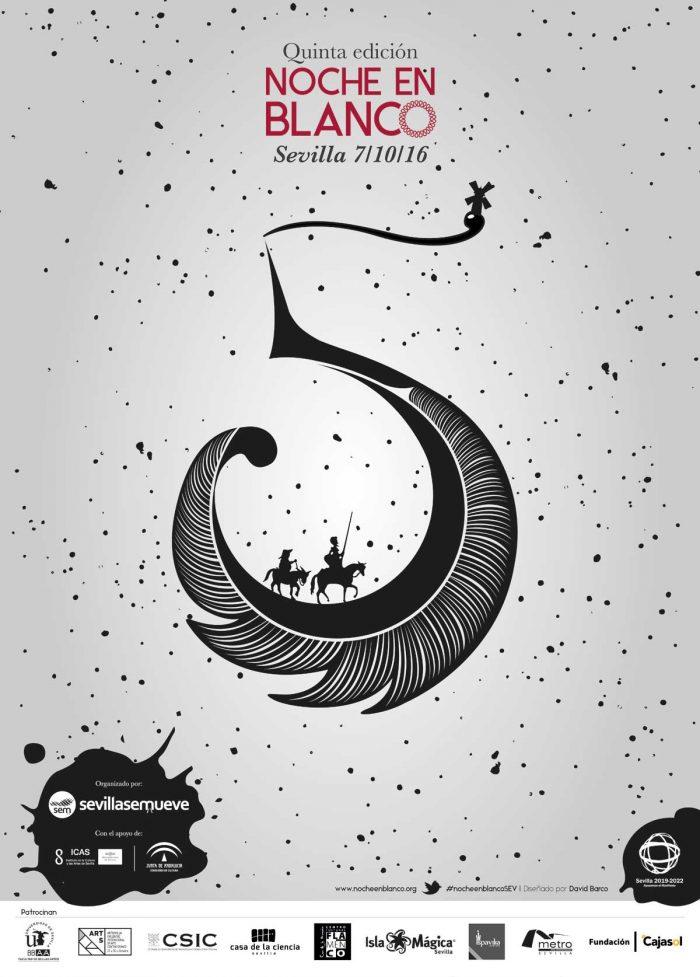 Cervantes en la Noche en Blanco - 'Una noche escrita para la cultura'