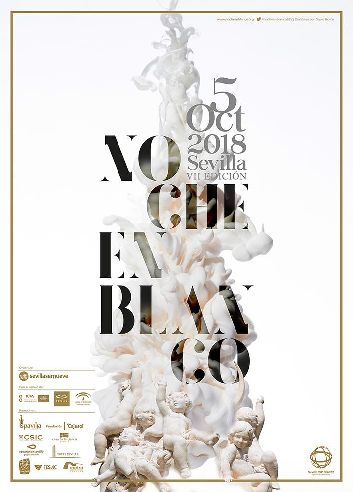 Cartel Noche en Blanco 2018