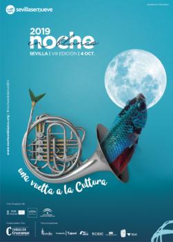 """Cartel Noche en Blanco 2019: """"Una vuelta a la Cultura"""""""